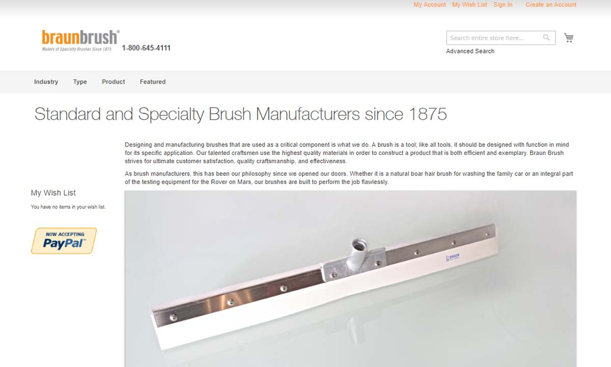 Braun Brush Company