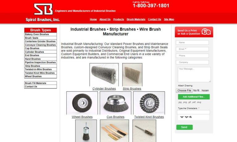 Spiral Brushes, Inc.