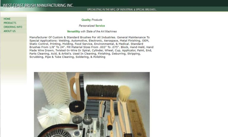 West Coast Brush Mfg., Inc.