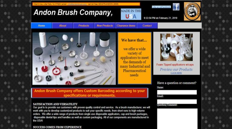 Andon Brush Company, Inc.